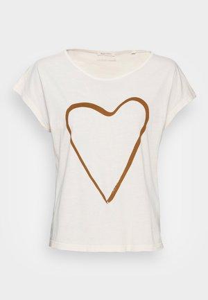 SHORT SLEEVE - T-shirt - bas - summer taupe