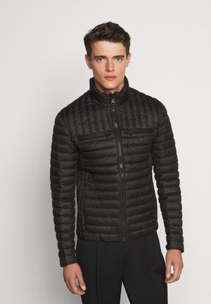 MENS JACKET - Chaqueta de plumas - black
