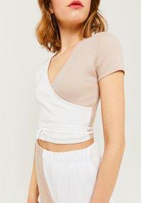 TALLY WEiJL - T-Shirt print - grey - 3