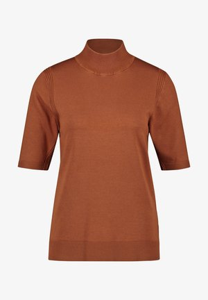 Basic T-shirt - haselnuss