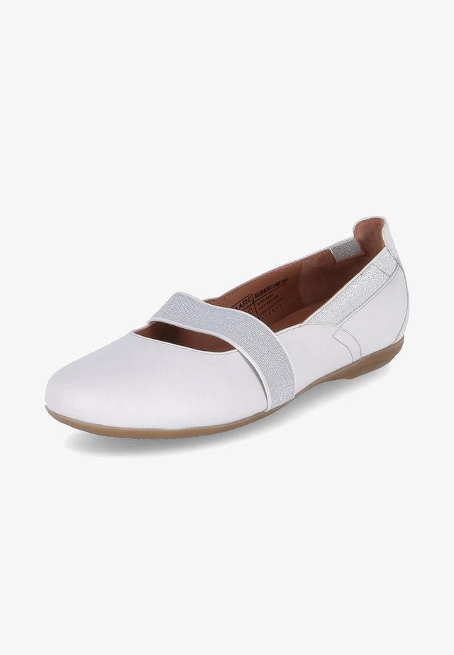 JANINA - Ballet pumps - weiß
