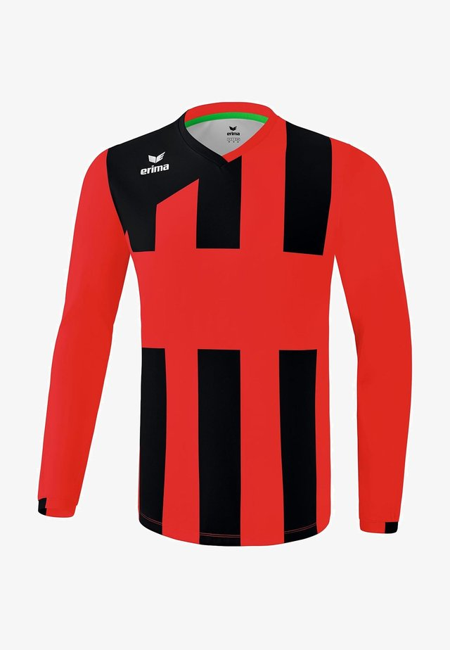 SIENA - Sports shirt - rot / schwarz
