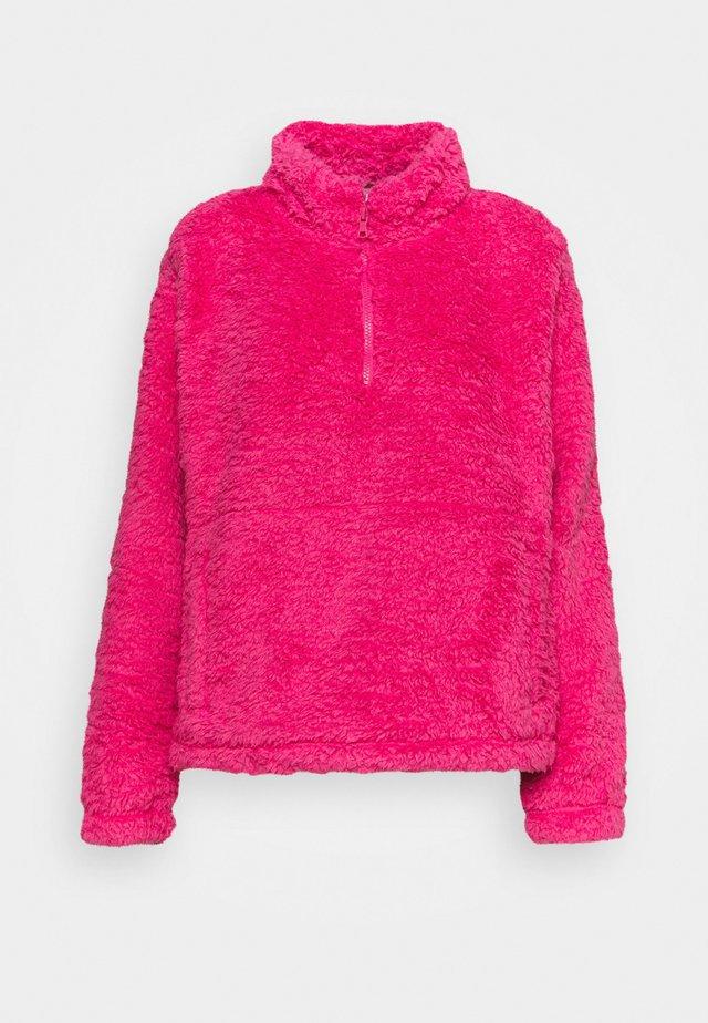 HALFZIP - Fleece jumper - bold pink