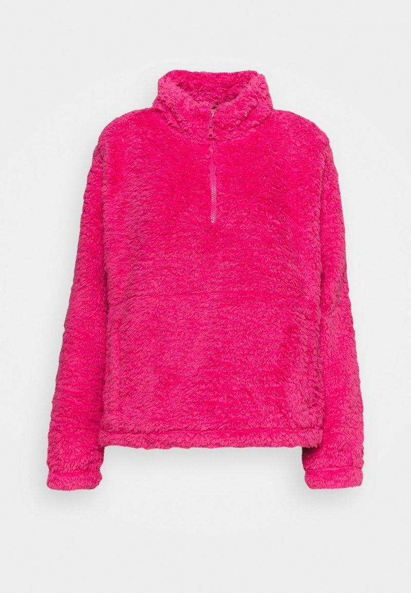 GAP - HALFZIP - Fleece jumper - bold pink