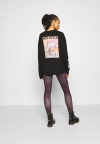 ONLY - ONLARIA LONG - Leggings - Trousers - bordeaux - 2