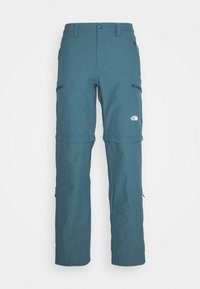 The North Face - EXPLORATION CONVERTIBLE PANT - Outdoor trousers - mallard blue - 6