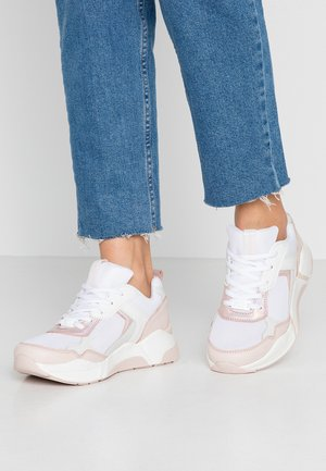 Sneakersy niskie - rose/white