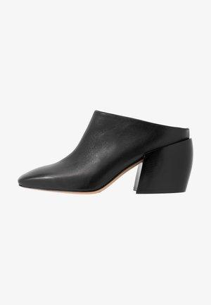 LYLA - Heeled mules - black