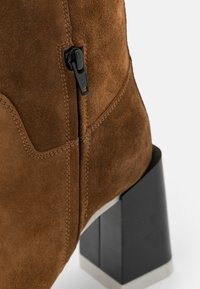 Furla - GRETA HIGH BOOT - High heeled boots - cognac/talco/nero - 6