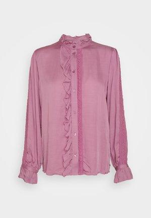 MIMI BLOUSE - Košile - dirty pink