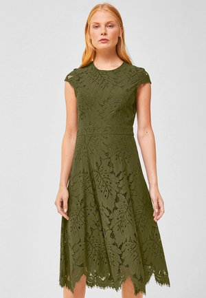 Cocktail dress / Party dress - dark olive