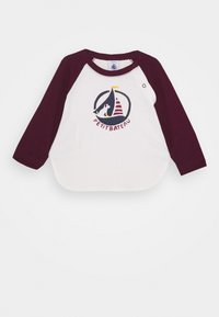 Petit Bateau - BABY TEE - Long sleeved top - marshmallow/cepage - 0