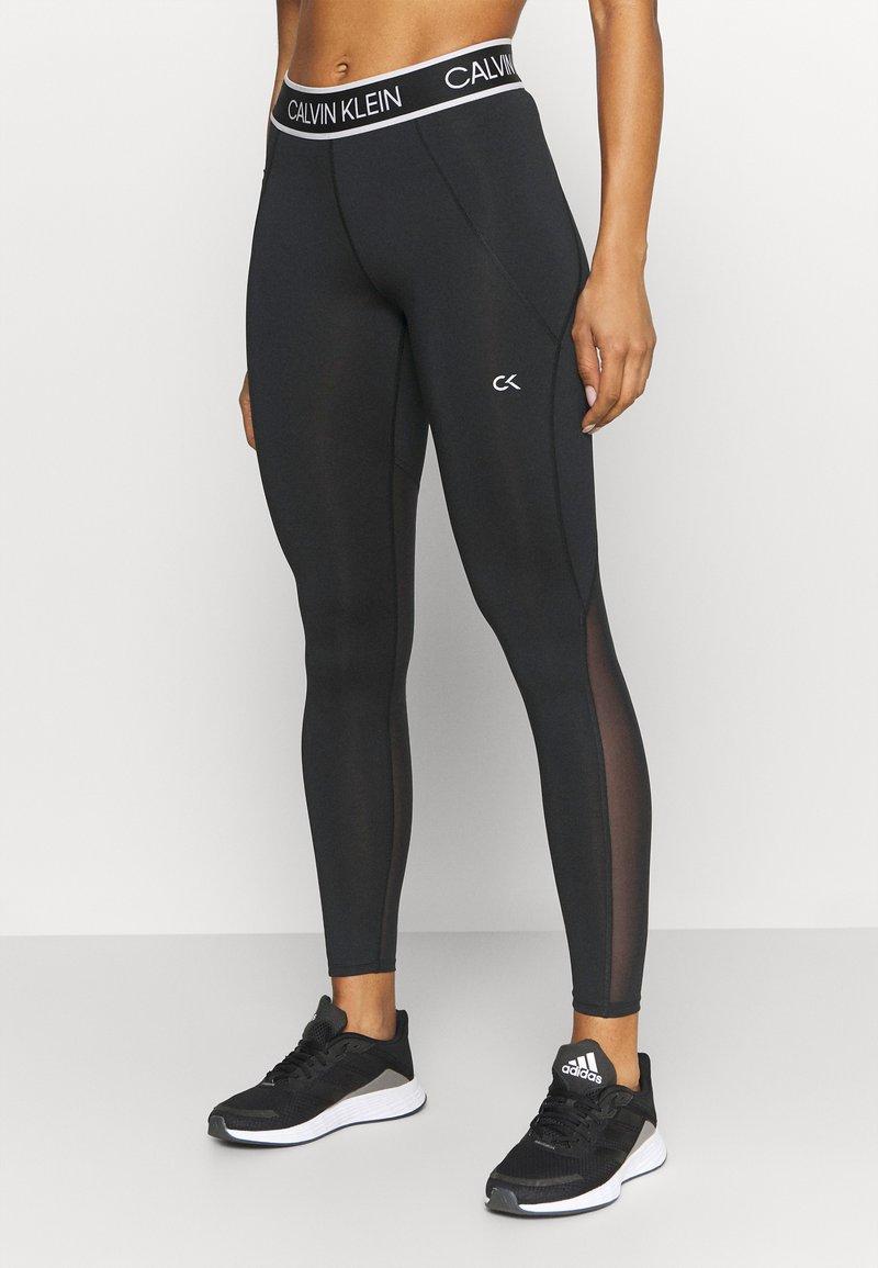 Calvin Klein Performance - FULL LENGTH - Leggings - black