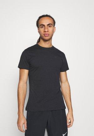 LOGO TEE - Basic T-shirt - black beauty