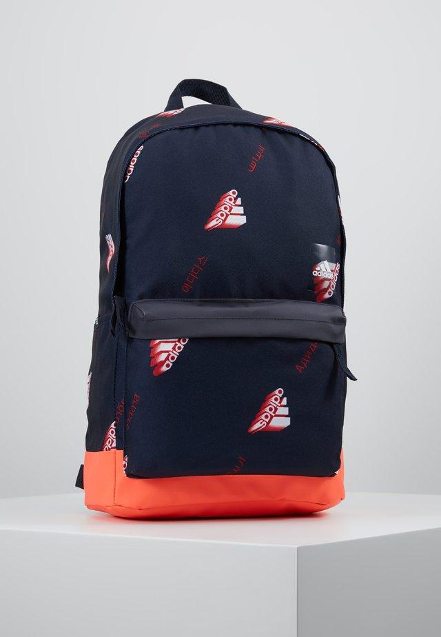 BACK TO SCHOOL ATHLETICS BACKPACK - Rucksack - legend ink/solar red/white