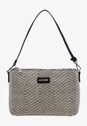 Handbag - off white/schwarz