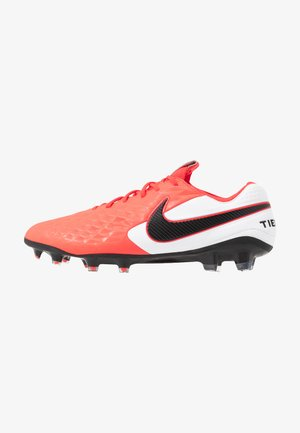 TIEMPO LEGEND 8 ELITE FG - Moulded stud football boots - laser crimson/black/white