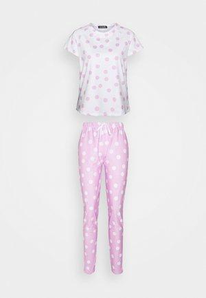 SPOT T-SHIRT WITH LEGGINGS - Pijama - lilac