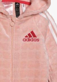 adidas Performance - ONESIE - Tepláková souprava - pink/white - 3
