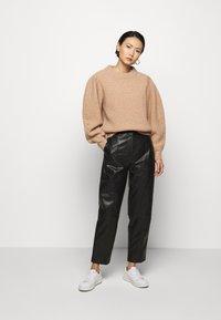 DESIGNERS REMIX - TALIA PANTS - Trousers - black - 1