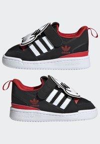 adidas Originals - FORUM 360 I ORIGINALS CONCEPT SNEAKERS SHOES - Sneaker low - core black/ftwr white/vivid red - 6