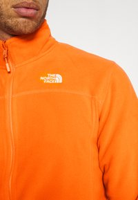 The North Face - M 100 GLACIER FULL ZIP - EU - Giacca in pile - flame - 4
