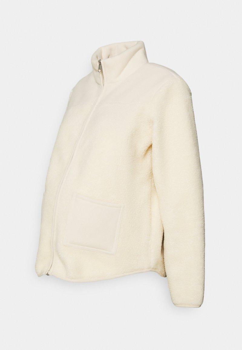 Pieces Maternity - PCMSADIE  - Fleece jacket - whitecap gray