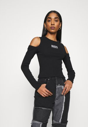 SWAY TEE - Long sleeved top - black