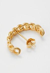 Vibe Harsløf - HOOP CHAIN LARGE  - Earrings - gold - 2