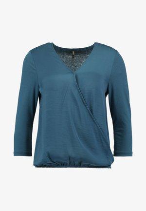 ONLAVA WRAP - Blouse - majolica blue