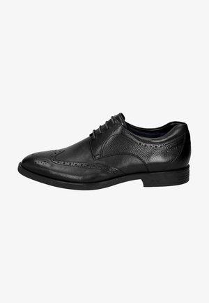 FORKAN-XL - Smart lace-ups - black