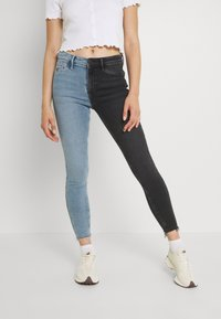 River Island - Jeans Skinny Fit - mid auth/black - 0