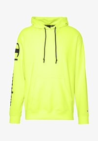 Champion - HOODED - Bluza z kapturem - neon yellow - 3