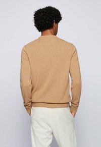 BOSS - KONTREAL - Stickad tröja - beige - 2