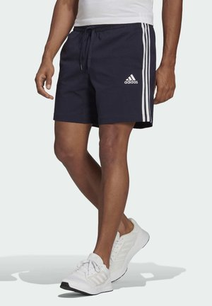 AEROREADY ESSENTIALS 3-STRIPES SHORTS - Urheilushortsit - blue