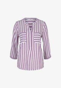 plum white vertical stripe