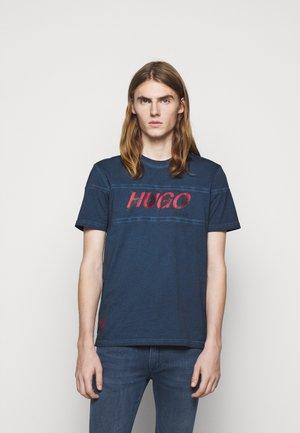 DAPPEL - T-shirt imprimé - dark blue
