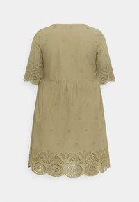 Zizzi - MALVA KNEE DRESS - Day dress - aloe - 1