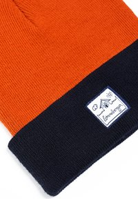 Lönneberga Kids - LUCAS - Beanie - orange/navy - 1