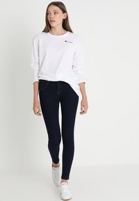ONLY - ONLDAISY PUSHUP - Jeans Skinny Fit - dark blue denim - 2