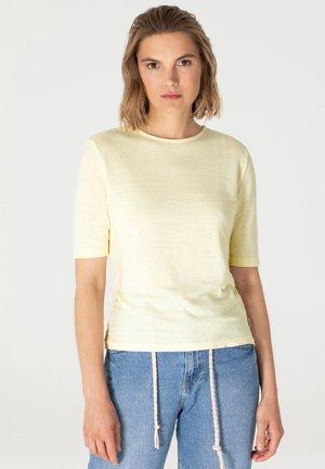 T-shirt basic - lemon ice