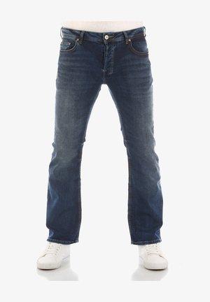 TINMAN - Bootcut jeans - blue lapis x wash