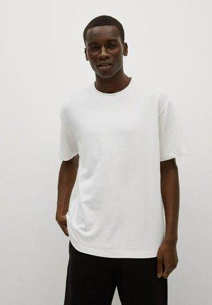 PREMIUM STRETCH - Basic T-shirt - white