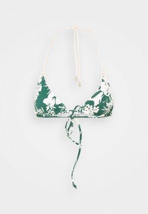 INSIDE NOSTALGIA - Bikinitop - ivy/cream