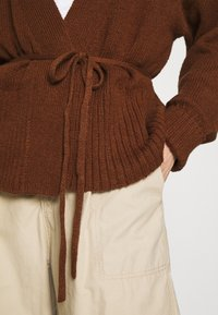 Abercrombie & Fitch - TALL CARDI - Cardigan - brown - 5