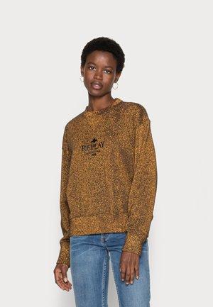 Sweatshirt - dark gold