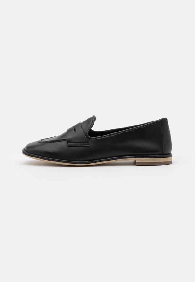 Scarpe senza lacci - savana nero