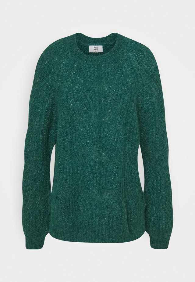 COMFORT  - Sweter - green melange