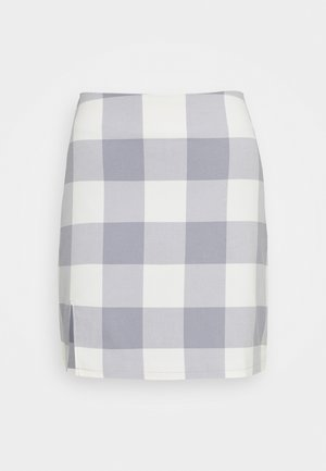 ELIN SKIRT - Minisukně - grey check