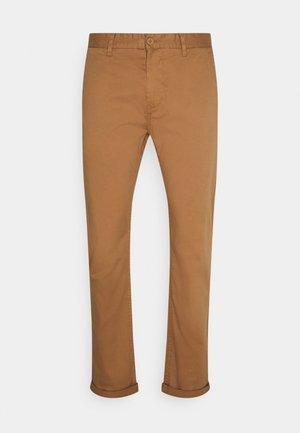 NORTON - Trousers - tobacco brown